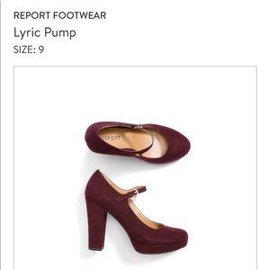 Report Footwear Lyric Pump Size 9